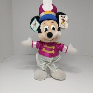 VINTAGE MARCHING BAND MICKEY MOUSE PLUSH